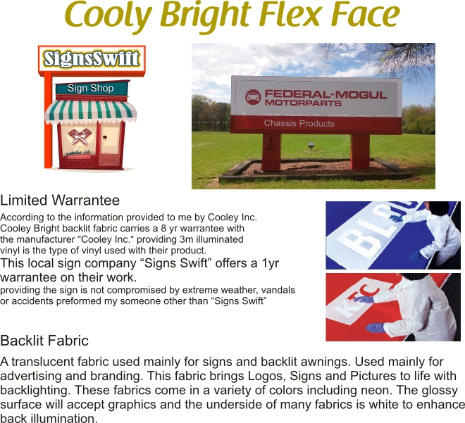 cooley bright flex face
